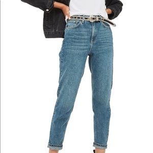 Topshop Moto Petite Mom Jeans